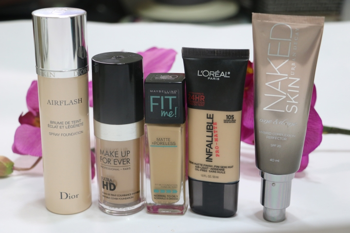 Mis bases de maquillaje favoritas | My Favorite Foundations